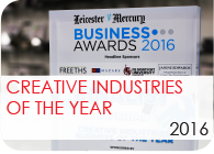 Creative Industries of the Year 2016